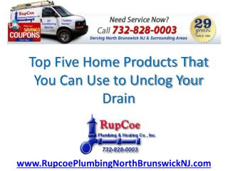 Use These Natural Drain Uncloggers for Your Home