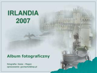 IRLANDIA  2007