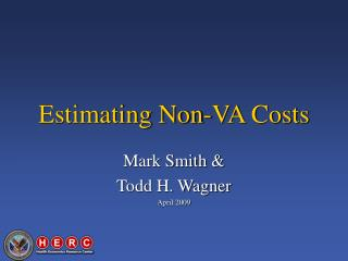 Estimating Non-VA Costs