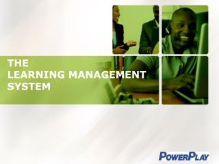 THE  LEARNING MANAGEMENT SYSTEM