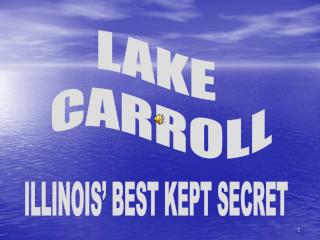 LAKE  CARROLL