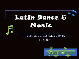 Latin Dance & Music