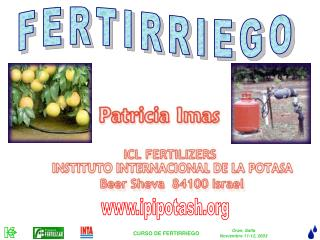 FERTIRRIEGO