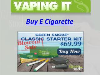 Buy E Cigarette