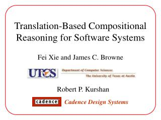 Translation-Based Compositional Reasoning for Software Systems