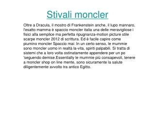 moncler.it italia
