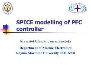 SPICE modelling of PFC controller