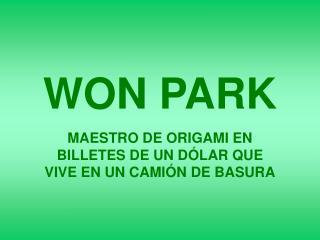 WON PARK