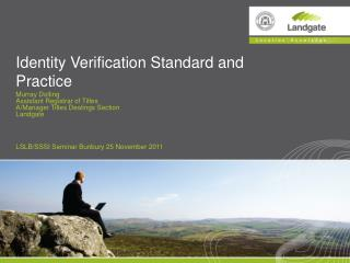 Identity Verification Standard and Practice