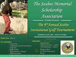 The Seabee Memorial  Scholarship Association