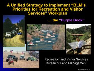Recreation and Visitor Services Bureau of Land Management