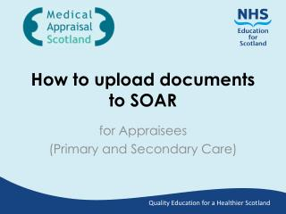 How to upload documents to SOAR