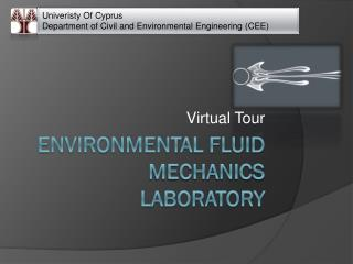 Environmental Fluid mechanics laboratory