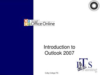 Introduction to Outlook 2007
