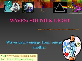 WAVES: SOUND & LIGHT