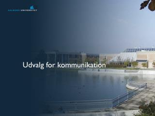 Udvalg for kommunikation