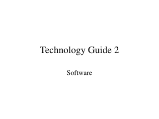 Technology Guide 2
