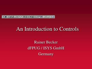 An Introduction to Controls