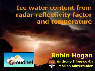 Ice water content from radar reflectivity factor and temperature
