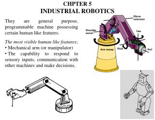 CHPTER 5 Industrial Robotics