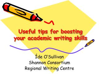 Useful tips for boosting your academic writing skills