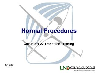 Normal Procedures