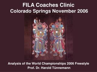 FILA Coaches Clinic  Colorado Springs November 2006