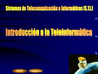 Introducción a la Teleinformática