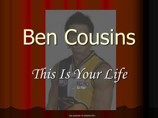 Ben Cousins