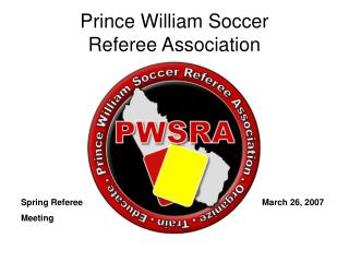 Prince William Soccer Referee Association