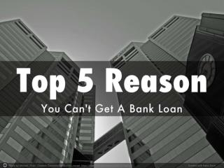 Pedro Torres Ciliberto - Top 5 Reasons To Not Get a Loan
