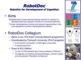 RobotDoc Robotics for Development of Cognition