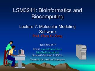 Web-resources of molecular modeling software