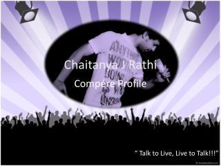 Chaitanya J Rathi