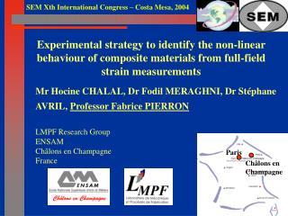 Mr Hocine CHALAL, Dr Fodil MERAGHNI, Dr Stéphane AVRIL,  Professor Fabrice PIERRON