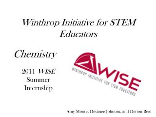 Winthrop Initiative for STEM Educators
