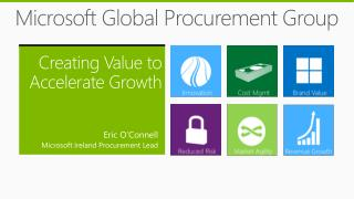 Microsoft Global Procurement Group