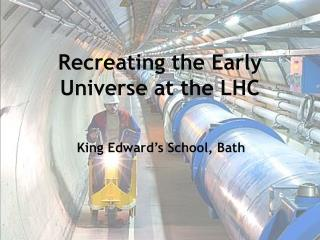 Recreating the Early Universe at the LHC