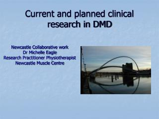 Current and planned clinical research in DMD