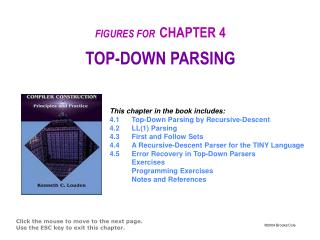 FIGURES FOR CHAPTER 4 TOP-DOWN PARSING