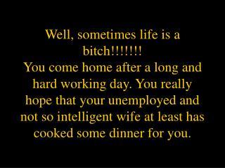 Unemployed Wife