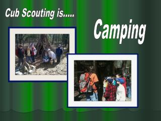 Cub Scouting is.....