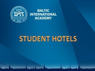STUDENT HOTELS