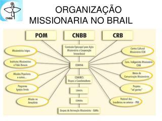 ORGANIZAÇÃO MISSIONARIA NO BRAIL