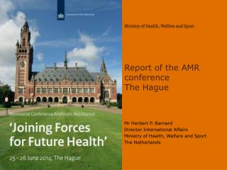 Report of the AMR conference The Hague