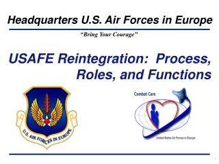 USAFE Reintegration:  Process, Roles, and Functions