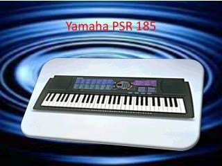 Yamaha PSR 185