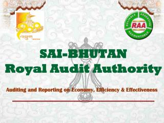 SAI-BHUTAN Royal Audit Authority