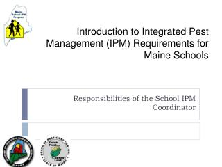 Introduction to Integrated Pest Management (IPM) Requirements for Maine Schools