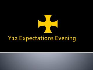 Y12 Expectations Evening